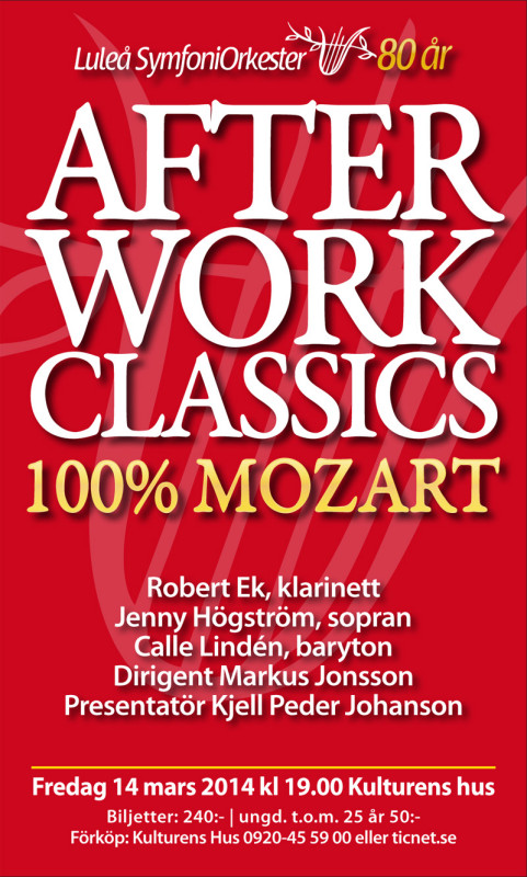 After Work Classics 2014