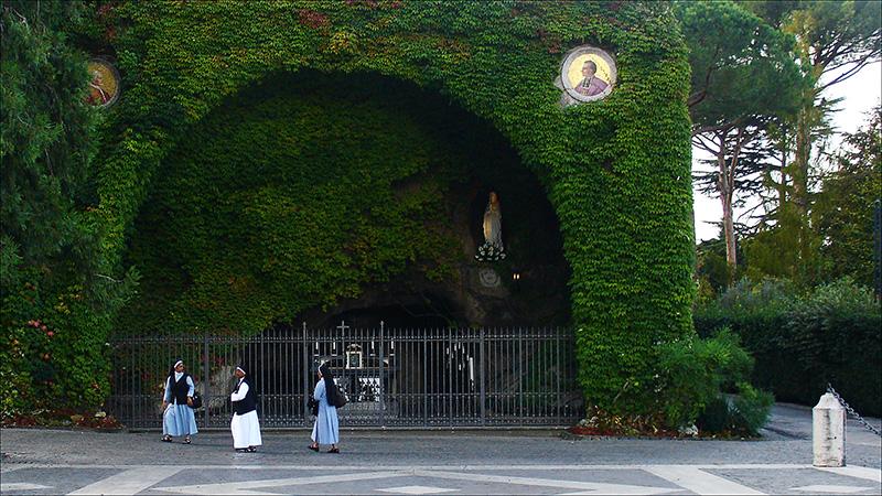 Vatikanens trädgård